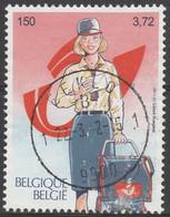 3001 500Ans Postes Europeene/500jaar Poste Oblitgestp Centrale - Used Stamps
