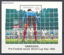Grenada 1989 Mi Bl 223 MNH ( ZS2 GRDbl223 ) - 1990 – Italie
