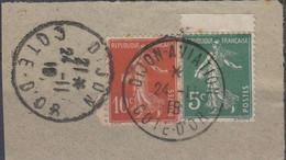 OBLIT. DIJON AVIATION Du 24.11.18 Sur Fragment - Ohne Zuordnung