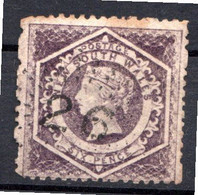 NOUVELLE GALLES DU SUD - (Colonie Britannique) - 1860-72 - N° 30 - 6 P. Violet - (Effigie Diadémée De Victoria) - Oblitérés