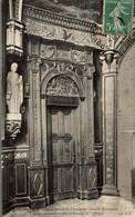 14 BAYEUX PORTE LATERALE DE L'ANCIENNE CHAPELLE EPISCOPALE - Bayeux