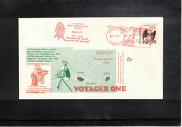 USA 1977 Space / Raumfahrt VOYAGER ONE Interesting Letter - Stati Uniti