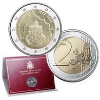 """Vatican 2004 : 2 Euro Commémorative """"75 Ans De La Fondation De L'Etat De La Cité Du Vatican"""" (en Coffret) - Vatican"""