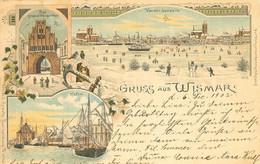 Gruss Aus Wismar  Das Grosse Wasserthor - Wismar