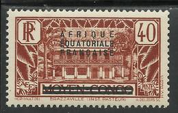 AFRIQUE EQUATORIALE FRANCAISE - AEF - A.E.F. - 1936 - YT 9** - Ongebruikt