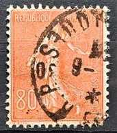 FRANCE 1924/32 - Canceled - YT 203 - 80c - 1903-60 Semeuse A Righe