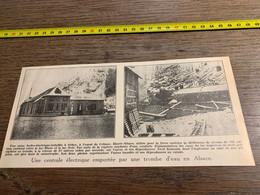 1934 PATI CENTRALE ELECTRIQUE A ORBEY A L OUEST DE COLMAR - Non Classificati