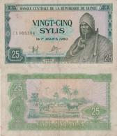 Guinea / 25 Sylis / 1980 / P-24(a) / VF - Guinea