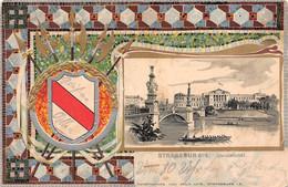 STRASBOURG-STRASSBURG-Bas-Rhin-Université Etudiant-Fantaisie-Blason-Armoirie-Wappen-Dessin-Illustrateur- - Straatsburg
