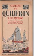Rare Guide Touristique De Quiberon Et Ses Environs Années 20 - Dépliants Turistici