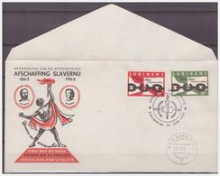 Surinam / Suriname 1963 FDC 26-2M Abolition Of Slavery - Surinam ... - 1975