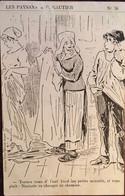 2 CPA Patois, Langue D'Oc, Illustrateur, B. Gautier, Série Les Paysans, Patois CHARENTAIS, éd Billaud, Royan 17 . - Altre Illustrazioni