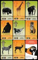 Turkey, Türkei - Gaziantep Zoo Entrance Ticket * 9 Different Animal So Beautiful - Toegangskaarten