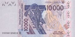 WEST AFRICAN STATES P. 618Hr 10000 F 1996 UNC - Niger