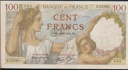 °°° FRANCE - 100 FRANCS 19/6/1941 °°° - 100 F 1939-1942 ''Sully''