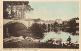 "/ CPA FRANCE 77 ""Varredes, Le Pont De Germigny"" - Other Municipalities"