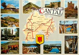 CPSM Cantal-Multivues  L99 - Zonder Classificatie