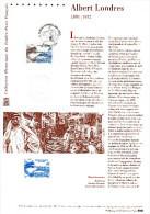 """"""" ALBERT LONDRES """" Sur Document Philatélique Officiel De 2007  (Prix à La Poste = 5.00 €) N° YT 4027. DPO - Schriftsteller"""