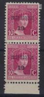 LUXEMBOURG PREO 1919 - 10 Cts Marie - Adélaîde (2x) , état Voir Scan !   LOT 236 - Precancels
