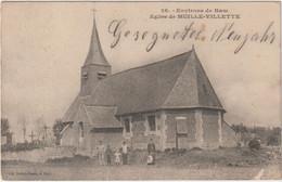 Alte Ansichtskarte Von Environs De Ham -Eglise De Muille-Villette- - Otros Municipios