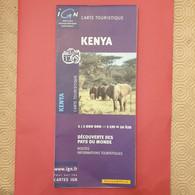 CARTE TOURISTIQUE KENYA - Altri