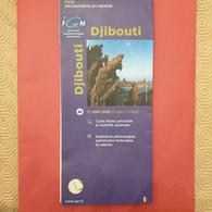 CARTE TOURISTIQUE DJIBOUTI - Altri