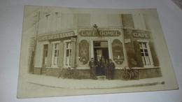 CARTE PHOTO CAFE DE LA LIANE CAFE GOMEL  ESTAMINET - Non Classificati