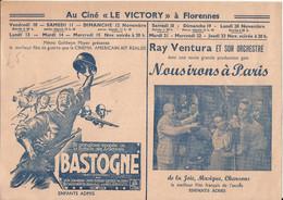 """FLORENNES - Programme Cinéma - Au Ciné """"Le Victory"""" Avec """"la Grandiose épopée De La Bataille Des Ardennes Bastogne"""" - Programs"""