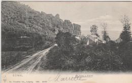 Bomal Sur Ourthe  ,( Durbuy ), La Roche  à  Frênes ,(édit : Dr Trenkler ,n° 26622 , 1904 ) - Durbuy