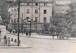 CPA 75 PARIS 14e Station De Métro DENFERT ROCHEREAU édicule GUIMARD Avenue D'Orléans Entrée Des Catacombes 1947 - District 14