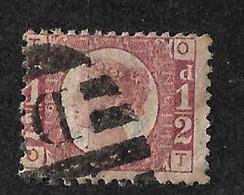 UK Royaume-Uni   N° 49  Planche 8 Oblitéré  B/TB   Soldé  à Moins De 10   % ! ! !  Le Moins Cher Du Site ! ! ! - Used Stamps