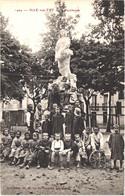 FR66 ILLE SUR TET - Brun 1404 - Statue La Faucheuse - Enfants - Animée - Belle - Altri Comuni