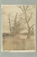 TRIER/TREVES (Allemagne) - Moselle En Hiver, Patinage (photo Année 1924, Format 11,6 Cm X 8,2 Cm) - Luoghi