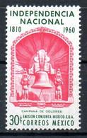 MEXIQUE. N°669 De 1960. Cloche De Dolorès. - México