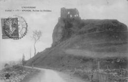 Apchon (15) - Ruines Du Château - Autres Communes