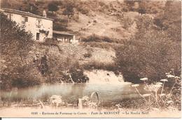 Environs De FONTENAY-LE-COMTE (85) Forêt De MERVENT - Le Moulin Neuf En 1924 - Fontenay Le Comte