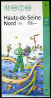 Métro Paris - HAUTS De SEINE NORD N° 6 - Complet - Mars 2001 - Europe