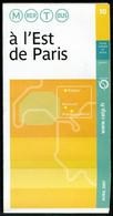Métro Paris - A L' EST De PARIS N° 10 - Complet - Avril 2007 - Europe