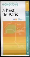 Métro Paris - A L' EST De PARIS N° 10 - Complet - Mai 2008 - Europe