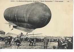 AVIATION Avion Le Ballon Dirigeable Anglais  NULLI SECUNDUS Vue Avant  ...G - Luchtschepen