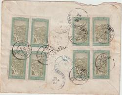 ESC Recommandée Illustrée 85c Ramdjee Mandjee Morombé/Ambihibe O. 13/Madagascar -> France 1925 - Brieven En Documenten