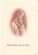 Devotie Devotion - Notre Dame De La Paix - 1937 - Devotieprenten