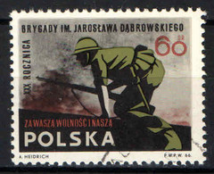 POLONIA - 1966 - Participation Of The Polish Jaroslaw Dabrowski Brigade In The Spanish Civil War - USATO - Gebraucht