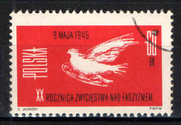 POLONIA - 1965 - Victory Over Fascism, 20th Anniversary - USATO - Gebraucht