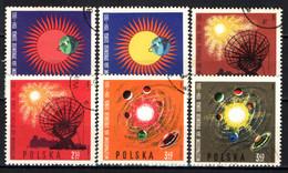 POLONIA - 1965 - International Quiet Sun Year, 1964-65 - USATI - Gebraucht
