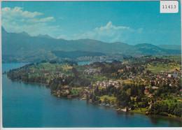 Flugaufnahme Meggen LU - LU Lucerne