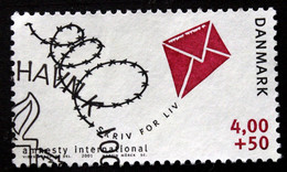 Denmark 2001  Amnesty International   MiNr.1270  ( Lot  C 1439 ) - Gebruikt