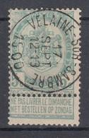 N° 56 OBLITERATION SUPERBE DE  VELAINE-SUR-SAMBRE - 1893-1907 Stemmi
