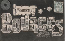 18 - Carte Postale Ancienne  SOUVENIR DE BOURGES - Bourges