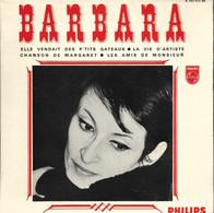 """EP 45 RPM (7"""") Barbara  """"  Elle Vendait Des P'tits Gâteaux  """" - Other - French Music"""